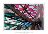 Fondation Louis Vuitton colorized by Daniel Buren 30