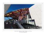 Fondation Louis Vuitton colorized by Daniel Buren 33