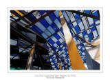 Fondation Louis Vuitton colorized by Daniel Buren 34