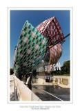 Fondation Louis Vuitton colorized by Daniel Buren 36