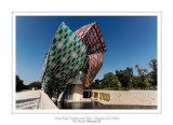 Fondation Louis Vuitton colorized by Daniel Buren 37