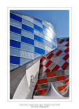 Fondation Louis Vuitton colorized by Daniel Buren 40