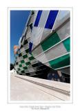 Fondation Louis Vuitton colorized by Daniel Buren 43