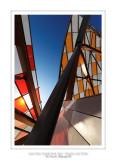 Fondation Louis Vuitton colorized by Daniel Buren 46