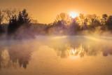 Misty Rideau Canal Sunrise DSCF01901