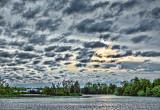 Rideau Canal Clouded Sunrise 20130525