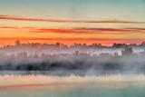 Misty Rideau Canal Sunrise 20130528