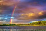 Rainbow Over Irish Creek 34836