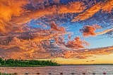 Rideau Canal Sunset Clouds 34859-60