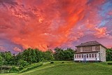 Fiery Sunset Clouds 34877