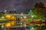 Rideau Canal At Night 20130608
