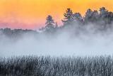Misty Otter Lake At Sunrise 20130726