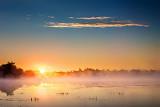 Misty Beveridge Bay Sunrise 20130727