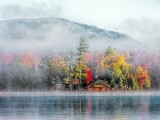 Lake Placid Autumn Morning 20130929