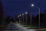 Row Of Streetlights 38806.8
