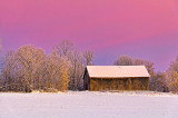 Winter Barn At Sunrise 20131130