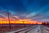 Sunrise Tracks 20131214