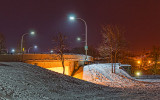 Beckwith Street Bridge At Night 20140205