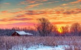 Rustic Shed At Sunrise 20140211