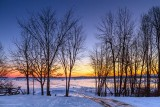 Frozen Lower Rideau Lake Sunrise 41601