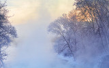 River Mist At Sunrise 20140213