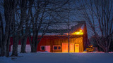 Barn At First Light 20140314