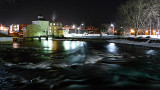 Smiths Falls At Night P1000709-10