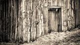 Snowed-In Old Barn Door 20140402