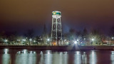 Water Tower At Night  20140405