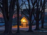 Lockmaster's House At Dawn P1010643-4