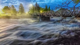 Confederation Drive Bridge At Dawn P1030852-3