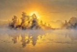Misty Rideau Canal Sunrise P1040493-5