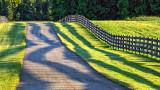 Horse Fence Shadows 20140710