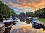 Boats At Chaffeys Lock DSCF16910-2