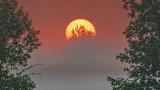Sunrise Over Ground Fog P1080637-9