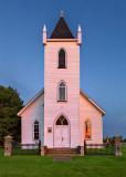 Wolford Chapel In Sunrise Glow P1080918-20