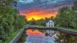 Merrickville Locks At Sunrise 20140830