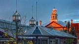 Clock Tower In Sunrise Glow P1000451-3