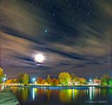 Canal Basin At Night 20141019