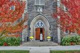 Autumn Church Door P1010419