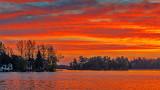 Newboro Lake Sunrise P1010098-100