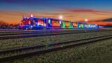 CP Holiday Train 2014 At Sunrise (P1030494-6)