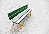 Snowy Bench DSCF00346