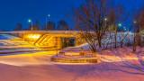 Beckwith Street Bridge At First Light 20150228