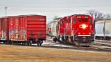 Switching Rail Cars 20150314