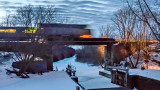 The 6:22 To Toronto Over The Canal 20150320