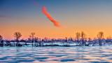 Lone Cloud At Sunrise 20150324