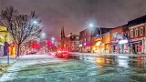 Beckwith Street In Light Snowfall 20150330