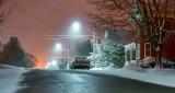 Light Springtime Snowfall P1090535