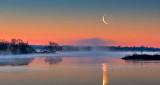 Rideau Canal Moonrise 20150416